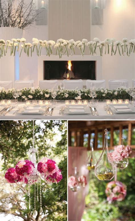 {Wedding Trends} : Hanging Wedding Decor   Belle The Magazine