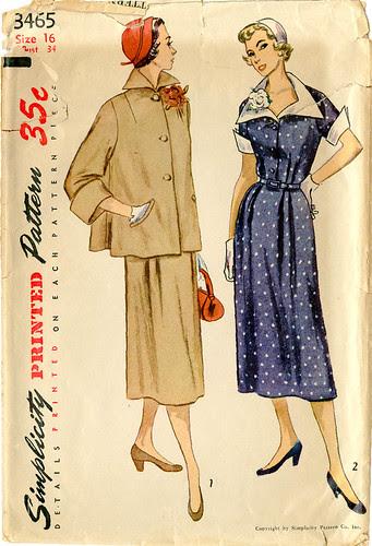 Vintage Simplicity 3465 Maternity