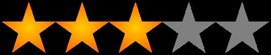 Resultado de imagen para tres estrellas png