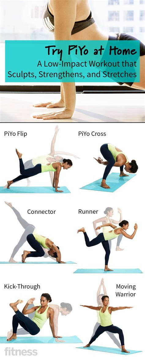 home piyo workout strengthens  stretches