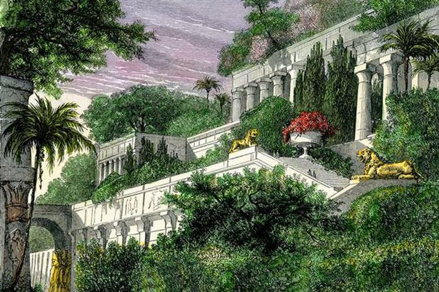 Hanging Gardens of Babylon 'were actually 300 miles away in ...