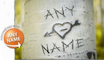 Carve Your Names On A Tree Print