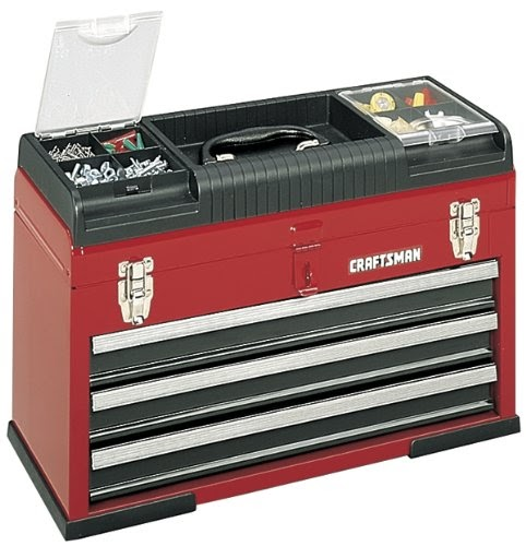 Cheapest Craftsman 9-65508 Portable Tool Chest, 3-Drawer