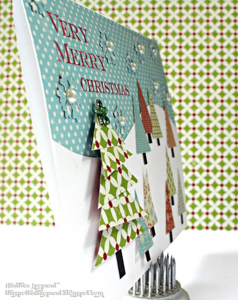 Very Merry Christmas tree Heather Leopard