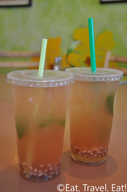 Iced Barley with Lime