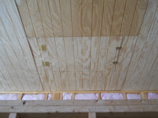 Attic Access Door Installed