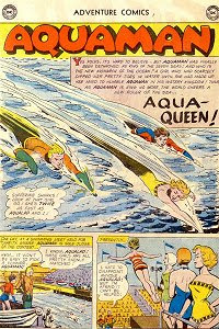 Adventure #274 Aquaman Splash Page