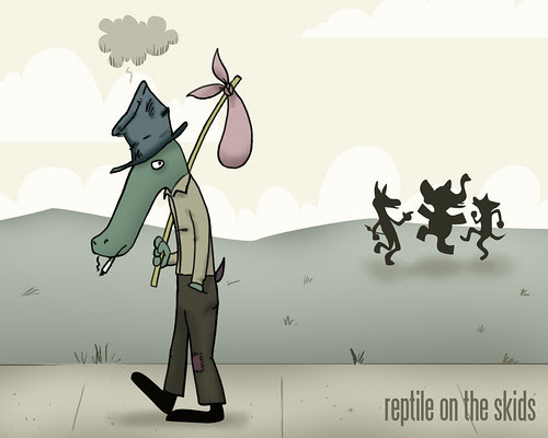 Reptile on the Skids