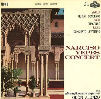 YEPES, NARCISO concert