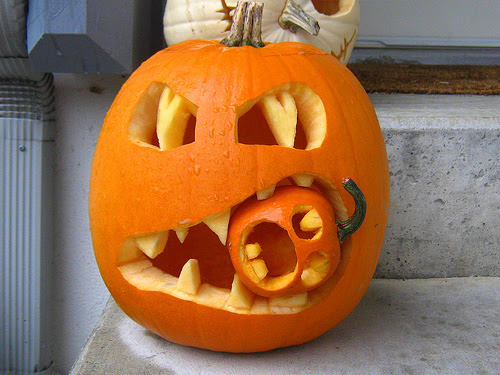 Halloween Afbeeldingen Awesome Jack O Lantern Achtergrond And