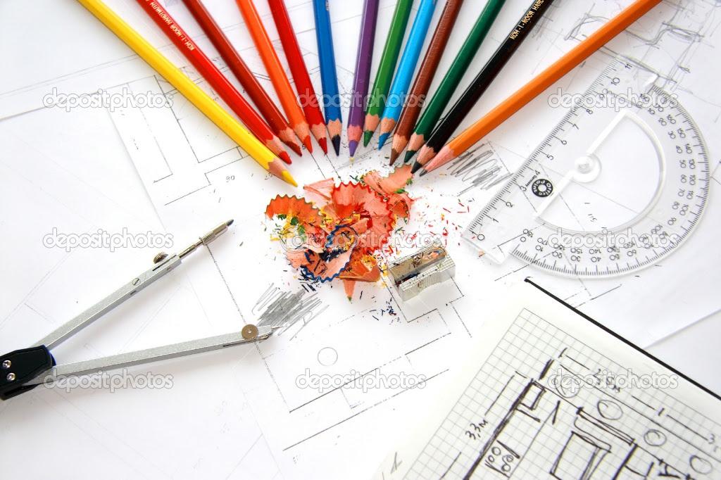 depositphotos_2582806 workplace of designer interior