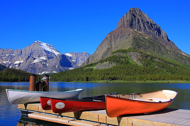 IMG_0203 Grinnell Point and Mount Gould, Glacier National Park