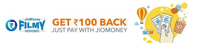 Get 50% Cashback + 100 Cashback on Movie ticket booking at bookmyshow