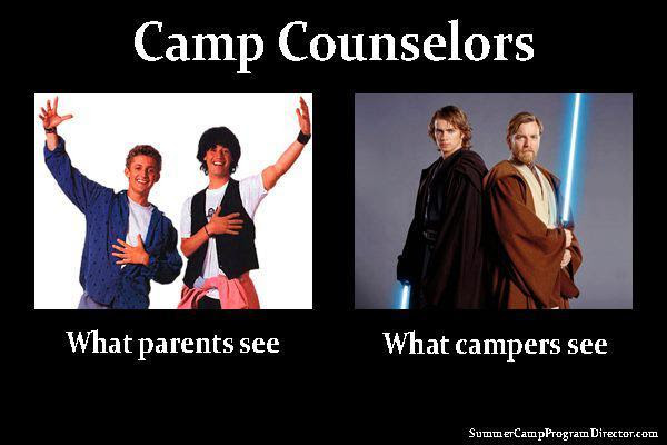 Found on a fellow camp counselor's facebook :)!