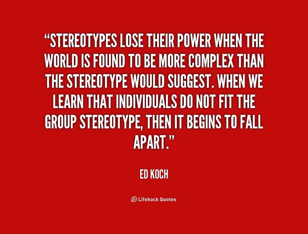 Image result for stereotypes quotes