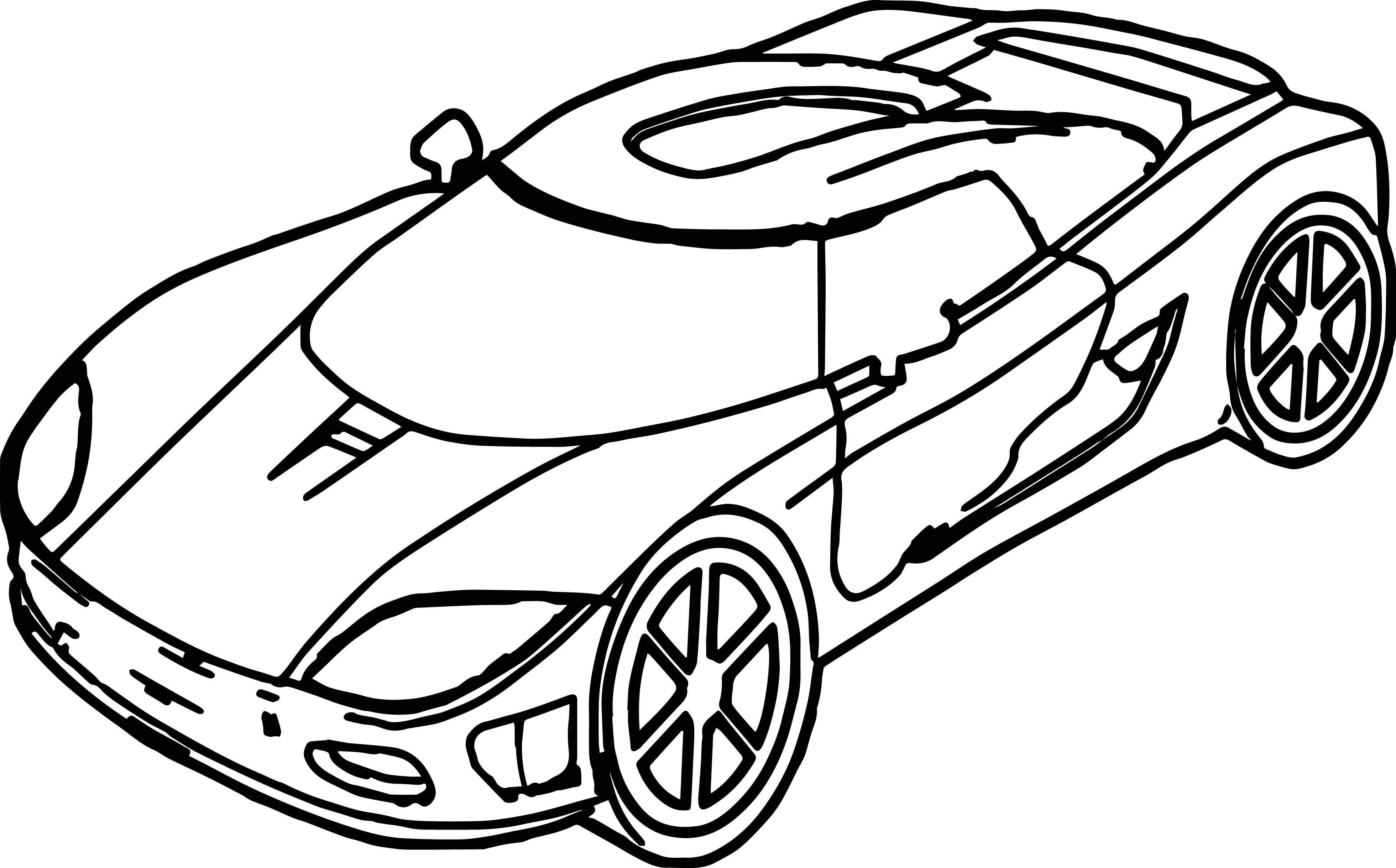 Sport Car Coloring | Dunia Belajar