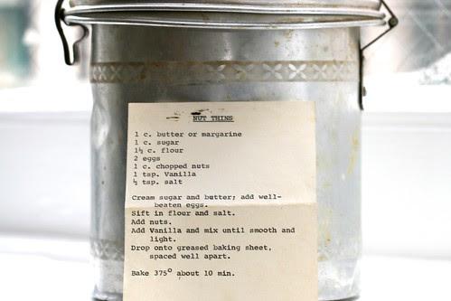 Nut Thins Recipe