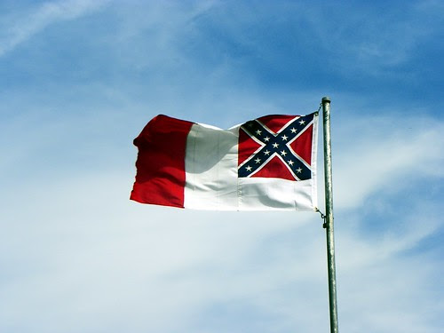 Third Confederate National Flag The Blood Stained Banner