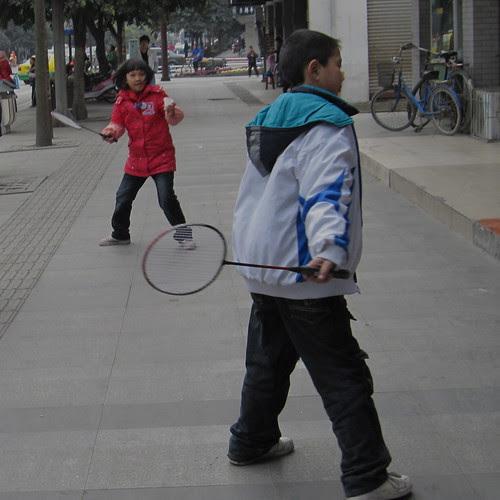 Street badminton, Pixian