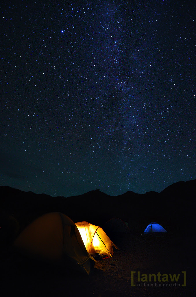 Clear Night Sky at Mt. Pulag Camp 2