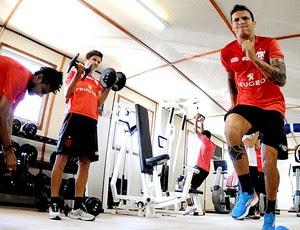 Ramon treino Flamengo (Foto: Alexandre Vidal / Fla Imagem)