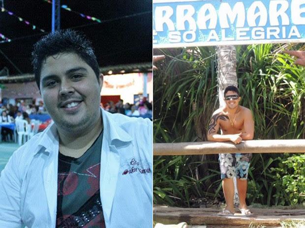 Quando começou na academia, o carioca lembra que faltava muita disposição para andar mesmo 10 minutos na esteira (Foto: Arquivo pessoal)