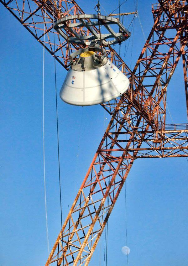 Orion drop test on Jan. 06, 2012