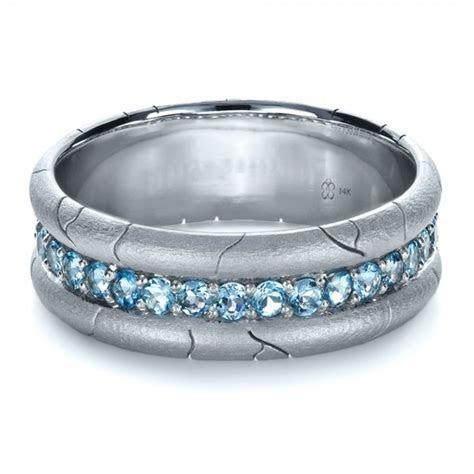 Men's Custom Ring with Aquamarine #1203 Bellevue Seattle