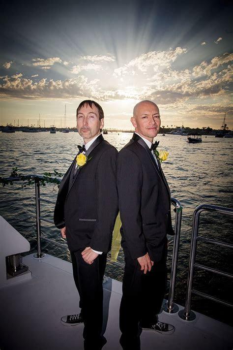 LGBT Wedding   Charter Yachts of Newport Beach   Weddings