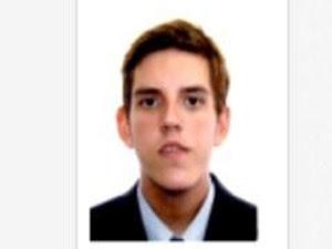 Marcelo Cury e Silva, de 28 anos, é advogado em Santos, SP (Foto: Reprodução/OAB)