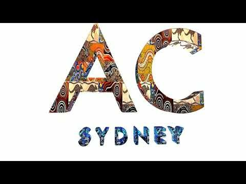 AC SYDNEY - The Ultimate Skincare Brand   Launching Aboriginal Logo