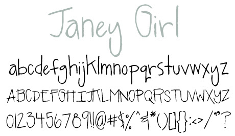 click to download Janey Girl