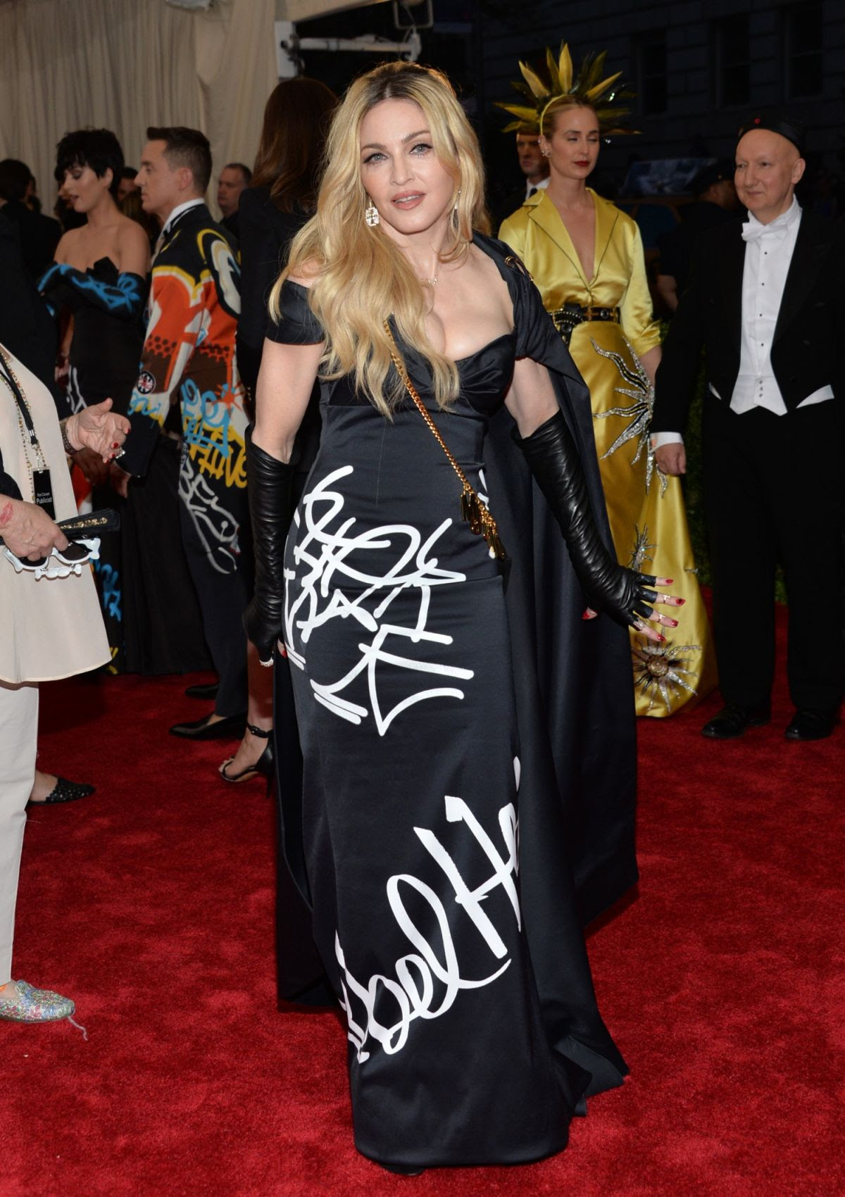 MADONNA at MET Gala 2015 in New York