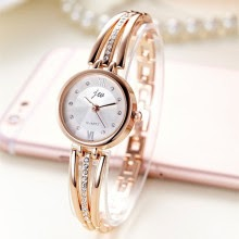 Rhinestone Watches Women Luxury Brand Stainless Steel Bracelet watches