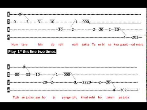 93 GUITAR CHORDS SONG TUM HI HO, GUITAR SONG CHORDS TUM HO HI