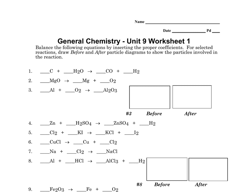 31 Chemistry Unit 5 Worksheet 3 Answers - Worksheet ...