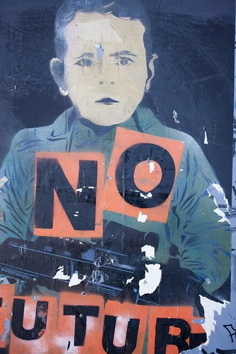 Street Art - No Future On The Streets Of Dublin by infomatique