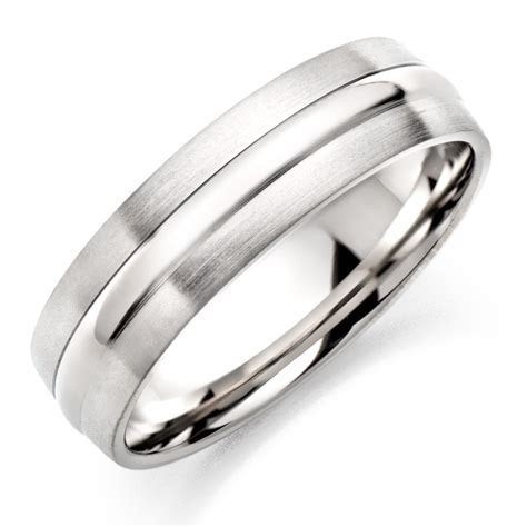 Mens Silver Wedding Rings UK