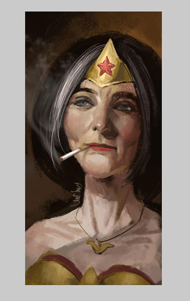 old-superhero-paintings-eddie-liu-5
