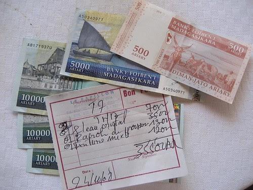 Madagasikara money