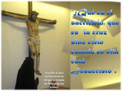 Frases En Imagenes Frases De Santa Teresa De Los Andes 13 Julio