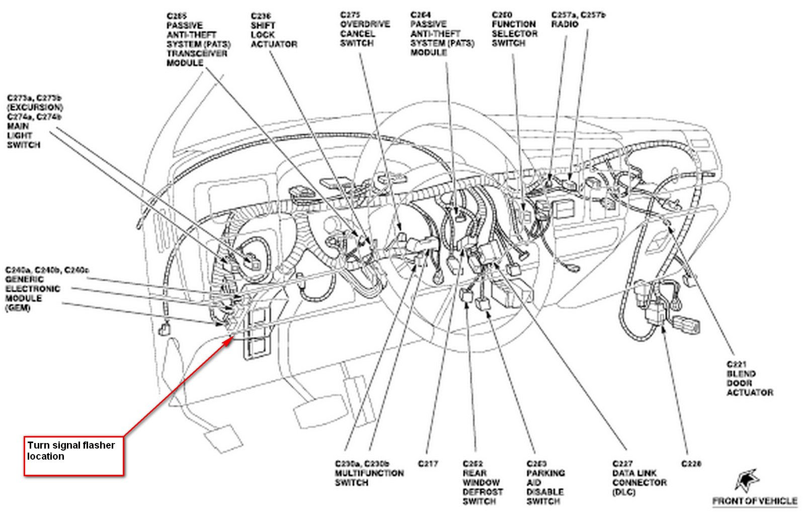 83a122b 1995 Buick Riviera Fuse Box Wiring Resources