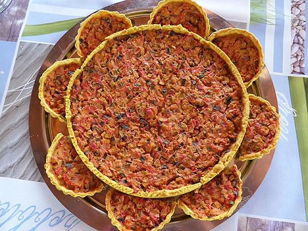 tarte pâte aux curry