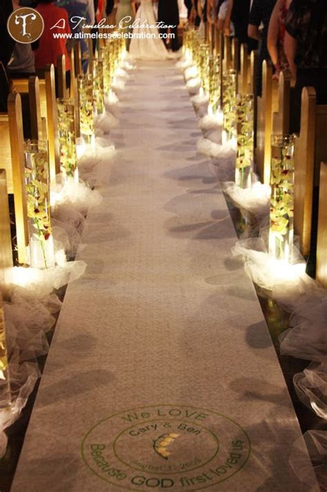 Best 20  Aisle Decorations ideas on Pinterest   Wedding