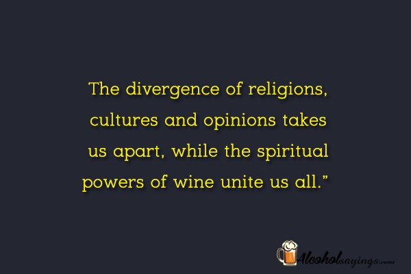 The Divergence Of Religions Cultures And Opinions Takes Us Apart