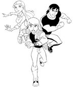 Ben 10 printable coloring pages