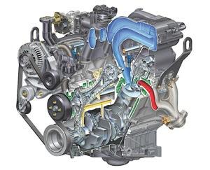 Ford 4.0L V6 Engine - Explorer, SOHC, Timing Chain