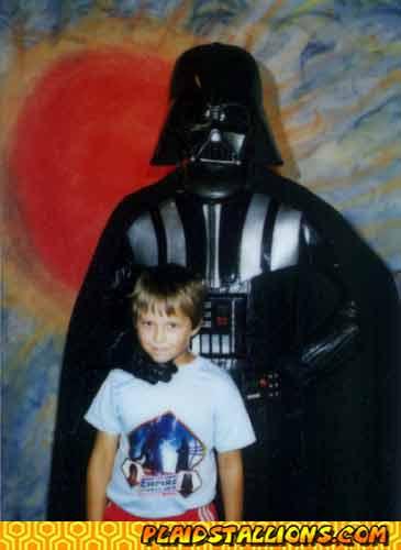 Darth Vader appearance