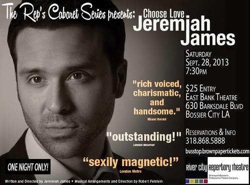 Jeremiah James, RCRT Cabaret Series by trudeau