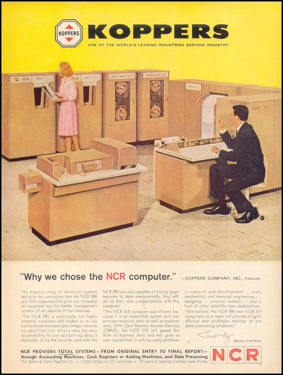 NCR COMPUTERS TIME 02/23/1962 p. 99
